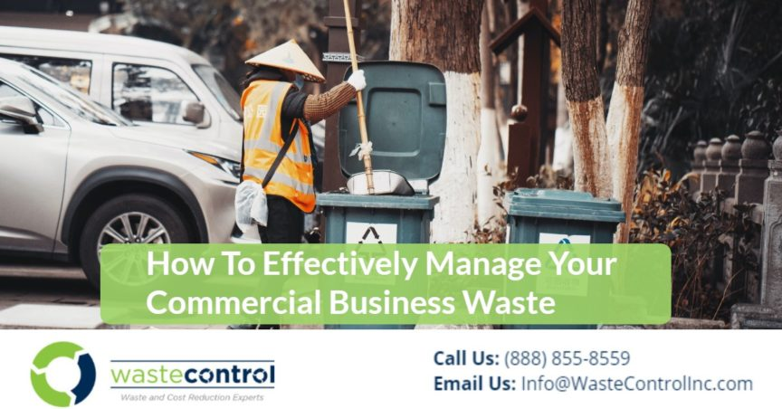 7 - Manage Commercial Business Waste